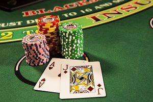 chips and blackjack