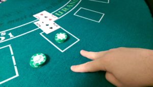 Splitting blackjack
