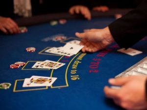 single deck blackjack game