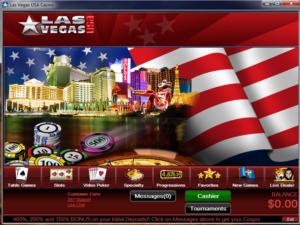 Las Vegas USA Lobby