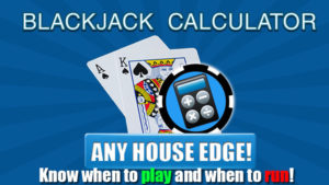 blackjack house edge calculator -click to calculate your odds