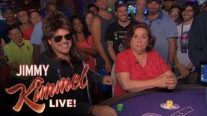 Matt Damon plays blackjack in disguise