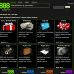 888 Casino Help Menu