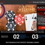 Bovada Blackjack Weekends 840