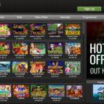 Casino Extreme slots menu
