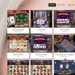 Casino Extreme table games menu