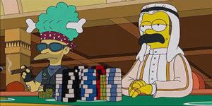 Simpsons Blackjack Team