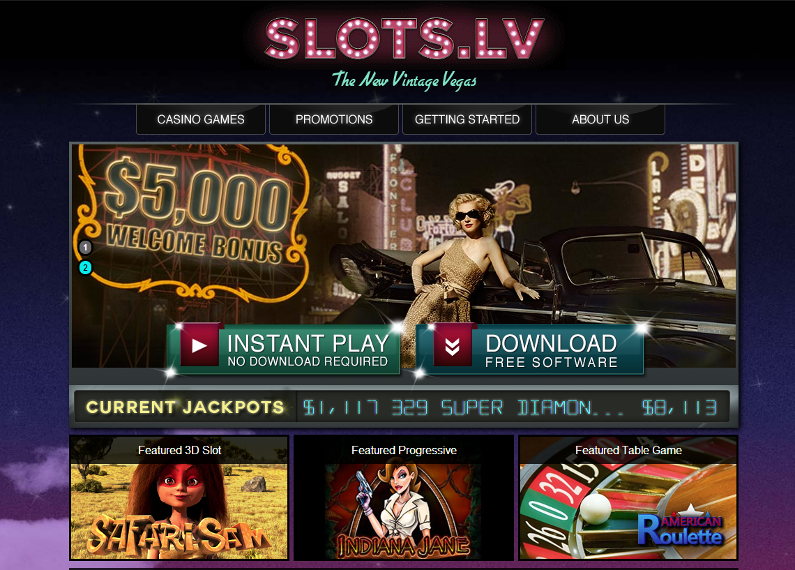 Slots lv casino login