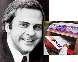 Fred Smith FedEx founder & CEO